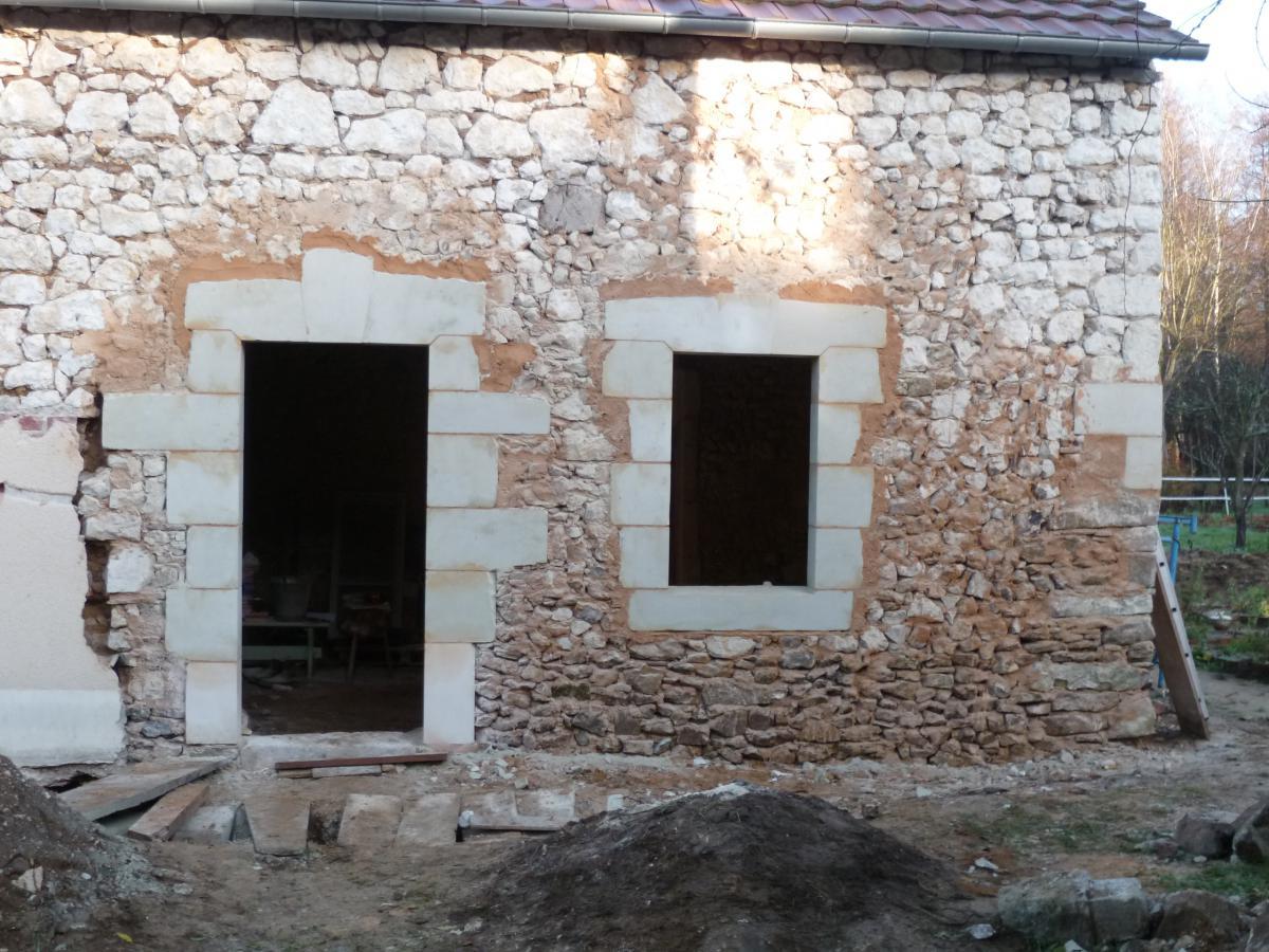 Restauration D 39 Une Fa Ade Pavillonn E La Maison