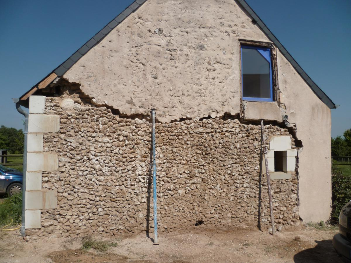 Enduit facade maison ancienne for Fissure facade maison ancienne